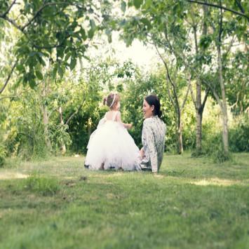 Min datter og barnebarn
