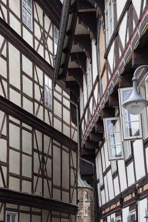 Centrum af Goslar.