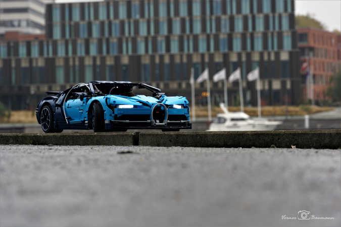 Med Bugatti en tur i Sønderborg