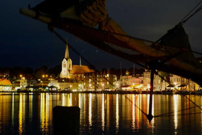 Fotokursus - aftenfotografering på Sønderborg Havn - redigeret udgave